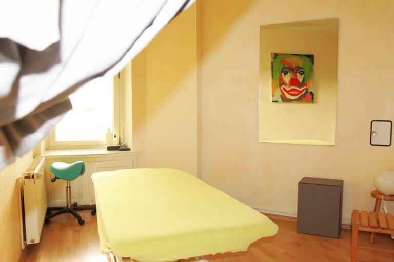 Physiotherapie   Behandlungsräume